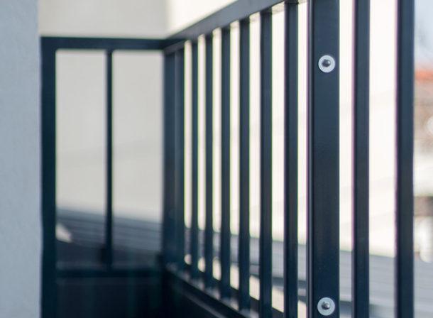 Balustrada balcon metal
