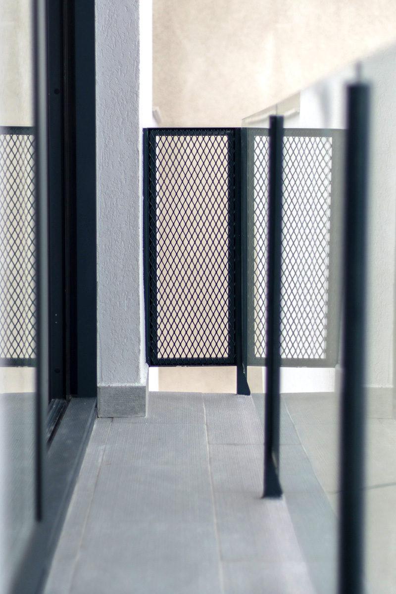 Balustrada balcon mesh