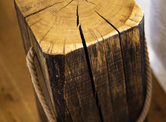 Noptiera lemn masiv